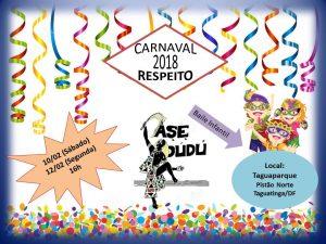 No Taguaparque tem Baile Infantil? Tem sim senhor!