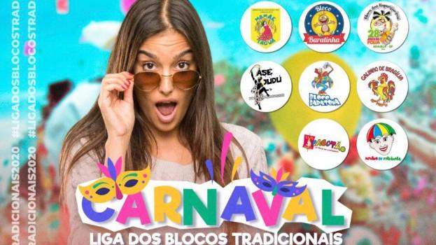 Carnaval 2020: Confira a programação oficial dos Blocos Tradicionais de Brasília